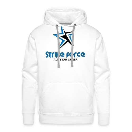 Strike Force Front and Side Logo - Men's Premium Hoodie