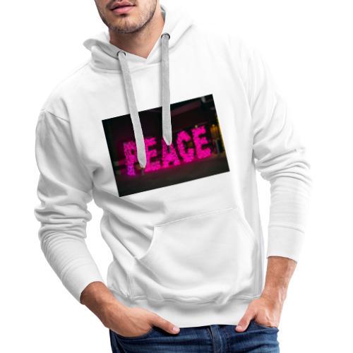 paz - Sudadera con capucha premium para hombre