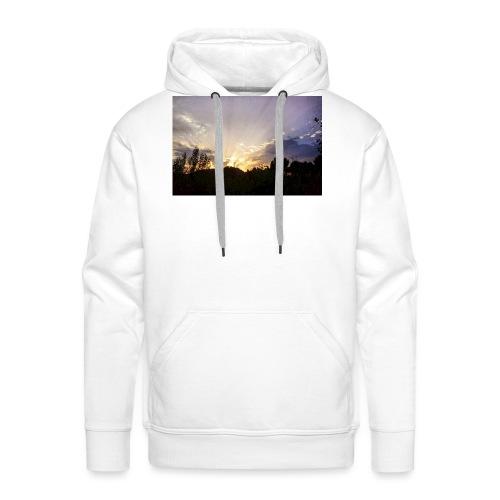 Sunset Ray 2 - Sweat-shirt à capuche Premium pour hommes