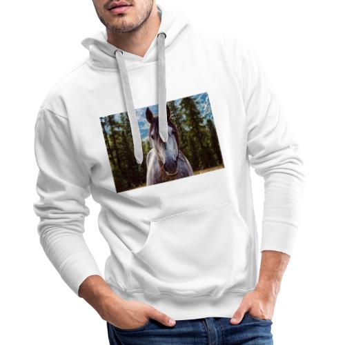 Nature Horse by #CreativeArts - Männer Premium Hoodie