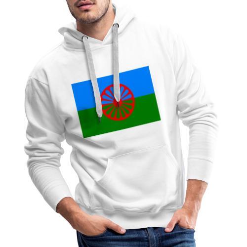 Flag of the Romani people - Premiumluvtröja herr