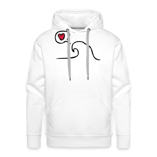 Love Wave - Mannen Premium hoodie