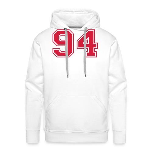 94 Open - Mannen Premium hoodie