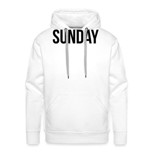 Sunday - Men's Premium Hoodie
