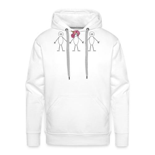 Unicorn - Mannen Premium hoodie