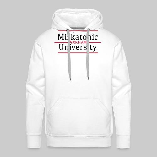 MJKv1: Miskatonic University - Arkham - Men's Premium Hoodie