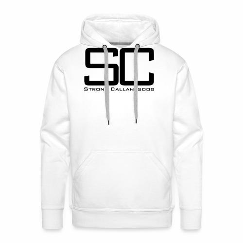 concept SC zwart png - Mannen Premium hoodie
