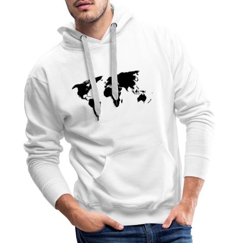 World Outline - Men's Premium Hoodie
