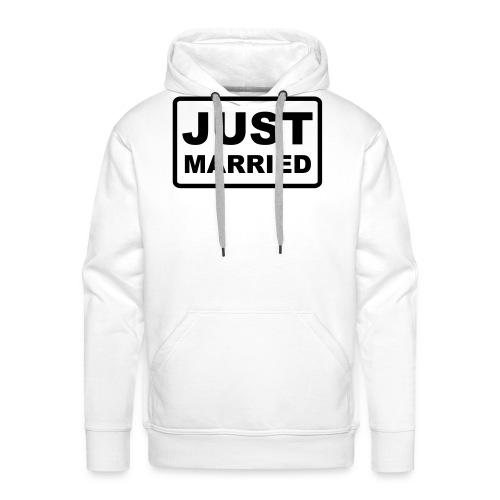 Just Married - Männer Premium Hoodie