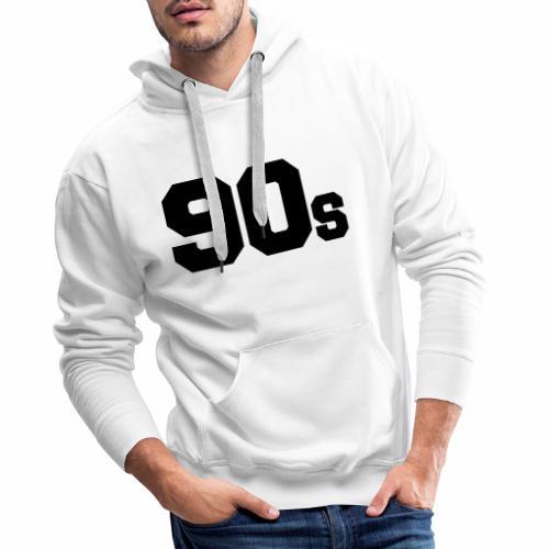 90s - Men's Premium Hoodie