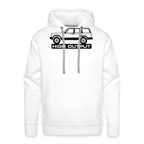 Jeep XJ High Output - Autonaut.com - Men's Premium Hoodie