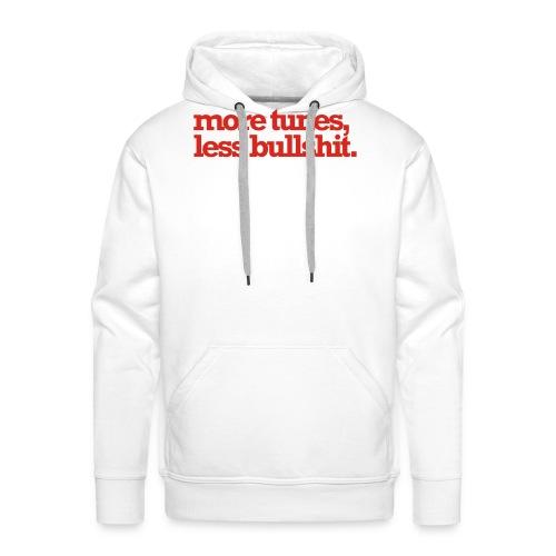moretuneslessbullshit - Mannen Premium hoodie