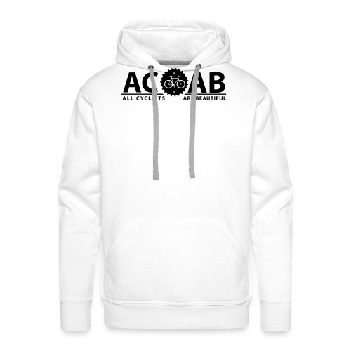 ACAB All Cyclists Are Beautiful T-Shirts - Männer Premium Hoodie