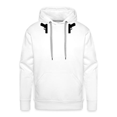 Guns Holster - Mannen Premium hoodie