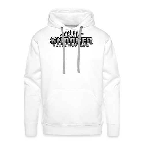 snooker i love this game - Männer Premium Hoodie