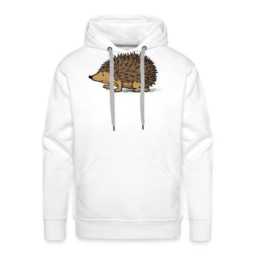 egel illustratie - Mannen Premium hoodie