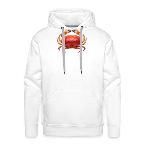 Low Poly Crab - Männer Premium Hoodie