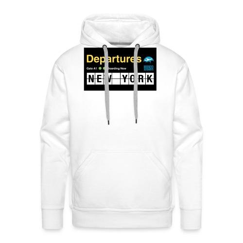 Departures Defnobarre 1 png - Felpa con cappuccio premium da uomo
