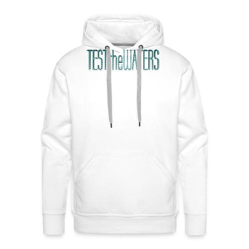 TESTtheWATERS BETA BLUE - Men's Premium Hoodie