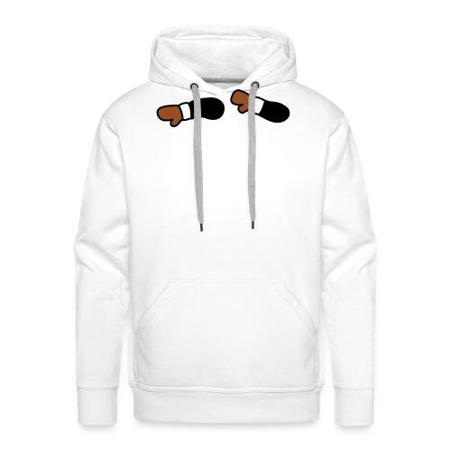 DabbingDab LOGO - Sudadera con capucha premium para hombre