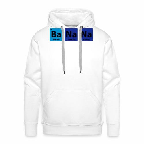 Periodic Table: BaNaNa - Men's Premium Hoodie