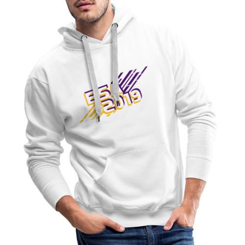 ESA 2019 - Summer Gold and Purple - Men's Premium Hoodie