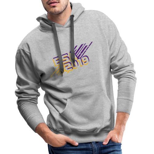 ESA 2019 - Summer Gold and Purple - Men's Premium Hoodie