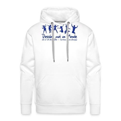logo wet 2016 sp - Sweat-shirt à capuche Premium pour hommes