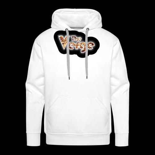 logo TheVerge Million Years - Sweat-shirt à capuche Premium pour hommes