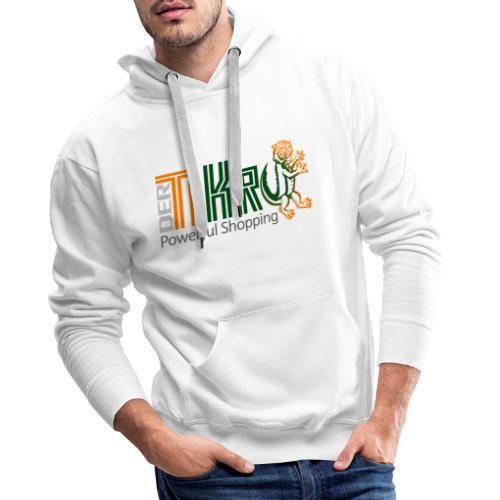 DerTiKro Tiger Krokodil - Männer Premium Hoodie