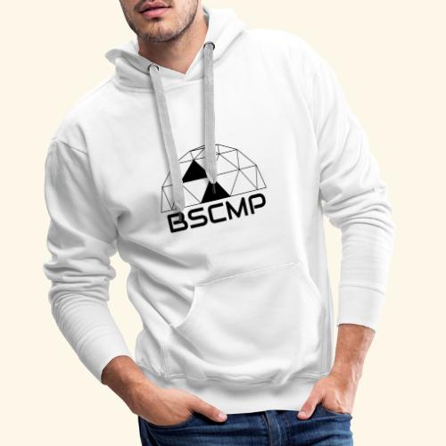 bscmp black - Mannen Premium hoodie