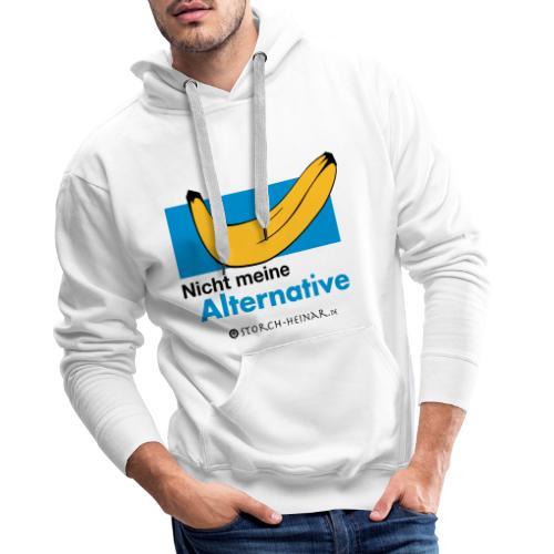 Nicht meine Alternative - Männer Premium Hoodie