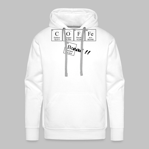 Coffee Break - Men's Premium Hoodie