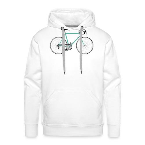 Rennrad für Hipster - Männer Premium Hoodie
