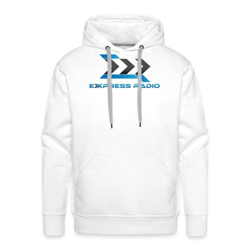 T-Shirt Express Radio - Sweat-shirt à capuche Premium pour hommes