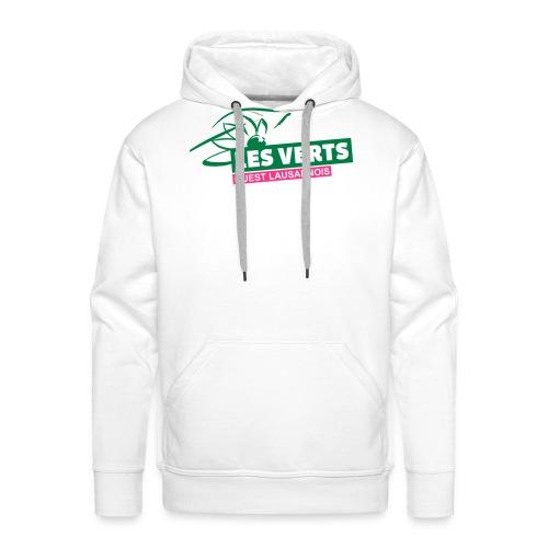 Les Verts OL normal - Sweat-shirt à capuche Premium pour hommes