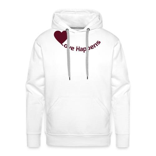 Love-Happens - Men's Premium Hoodie
