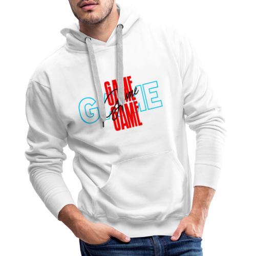 Game - Sudadera con capucha premium para hombre