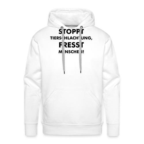 Stoppt Tierschlachtung! - Männer Premium Hoodie