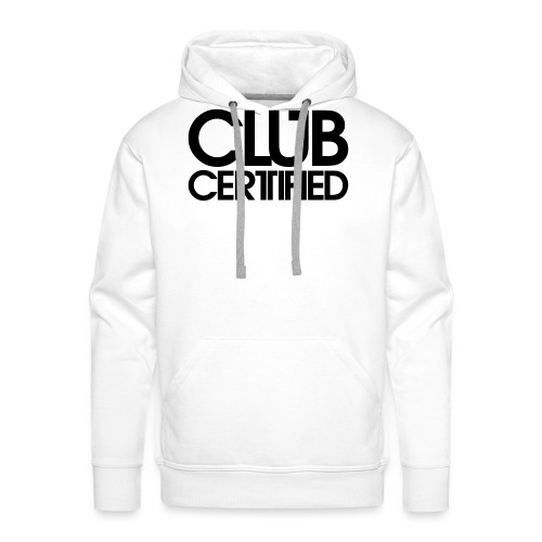 LOGO CLUB CERTIFIED BLACK - Men's Premium Hoodie