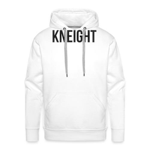 Brand KNEIGHT Logo - Herre Premium hættetrøje