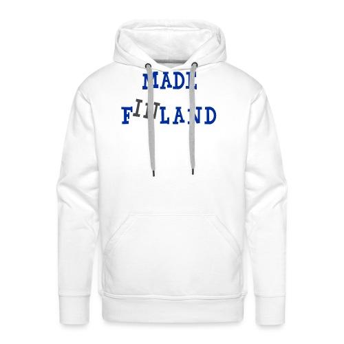 Made in Finland - Miesten premium-huppari