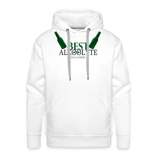 Alcoolyte ! - Sweat-shirt à capuche Premium pour hommes