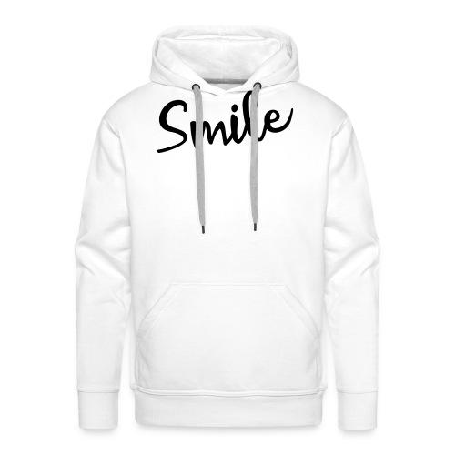Smile - Männer Premium Hoodie