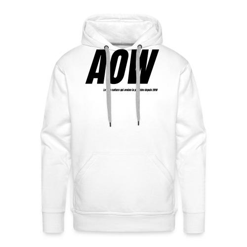 AOW 2021 - Sweat-shirt à capuche Premium pour hommes