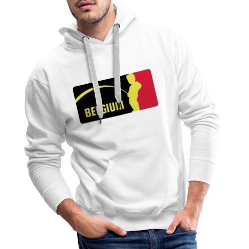 Mannekke Pis, Belgium Rode duivels - Belgium - Bel - Sweat-shirt à capuche Premium pour hommes