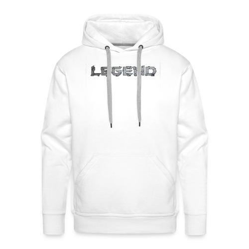 LEGENDtextediting3 - Mannen Premium hoodie