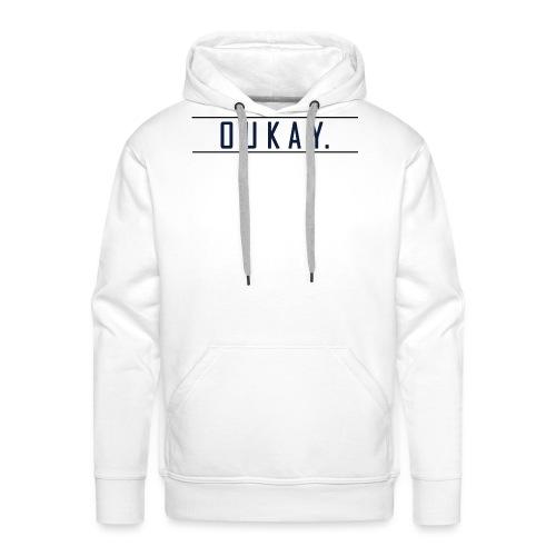 T-Shirt Homme - OUKAY by Crazy Mo - Sweat-shirt à capuche Premium pour hommes