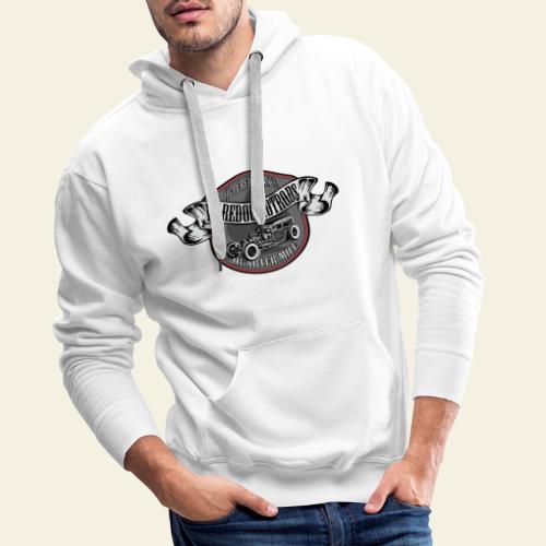 rod logo - Herre Premium hættetrøje