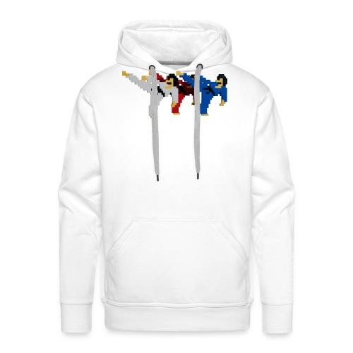 8 bit trip ninjas 2 - Men's Premium Hoodie